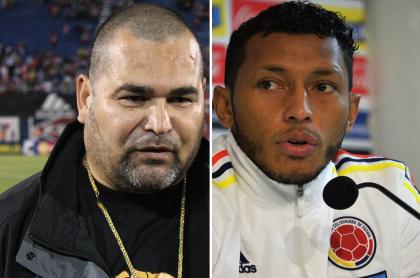 José Luis Chilavert y Carlos Valdés
