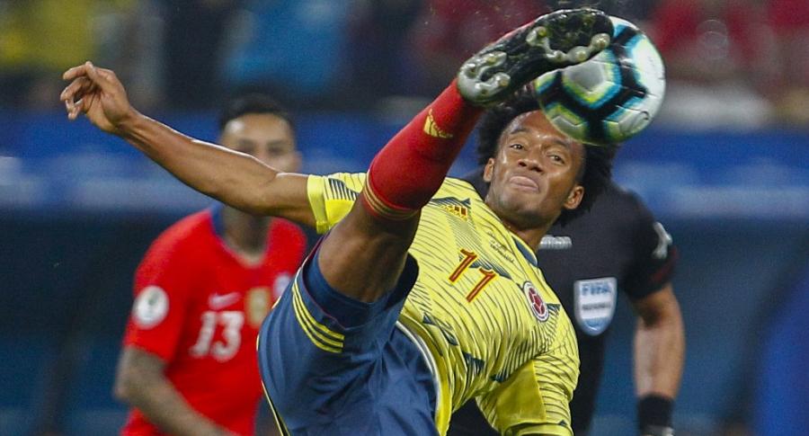 Selección Colombia vs. Chile (Juan Guillermo Cuadrado)