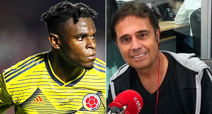 Duván Zapata y César Augusto Londoño