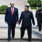 Donald Trump, presidente de Estados Unidos, y Kim Jong Un, gobernante de Corea del Norte.