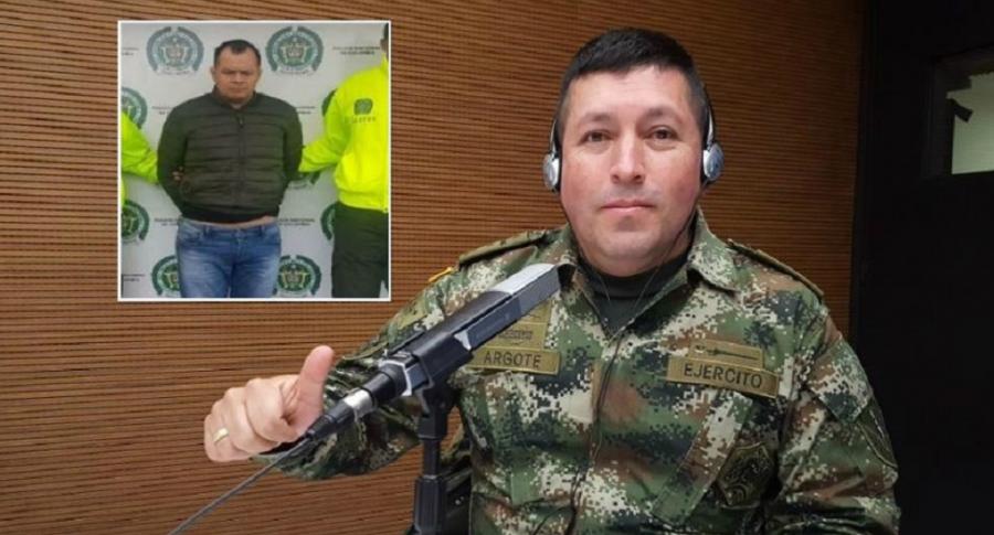 Destituido coronel del Ejército