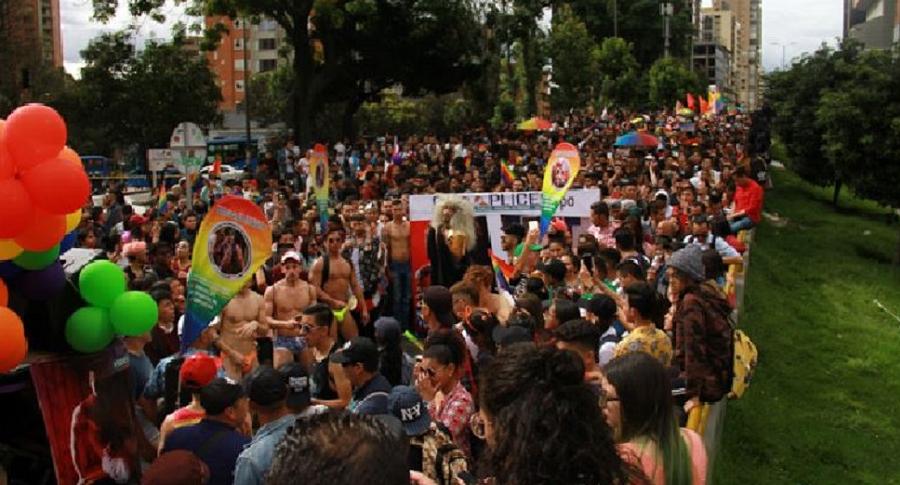 Marcha en Bogotá