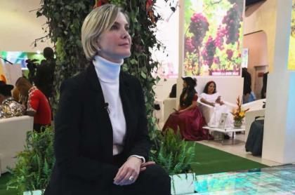 Margarita Ortega, actriz y presentadora.
