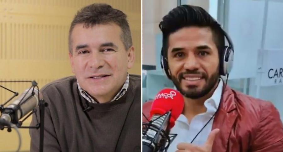 Diego Rueda y Fabián Vargas