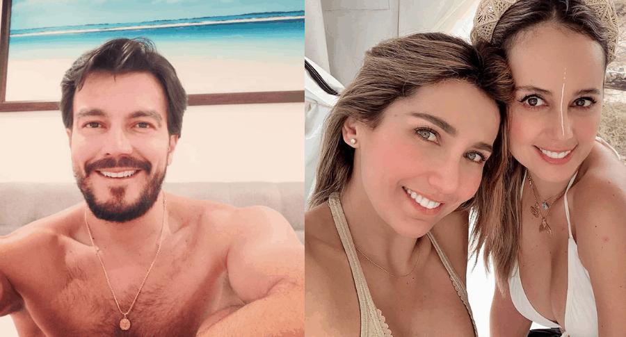 Luciano D'Alessandro, Adriana Betancur y Milena López