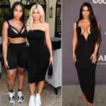 Jordyn Woods, Kylie Jenner y Kim Kardashian