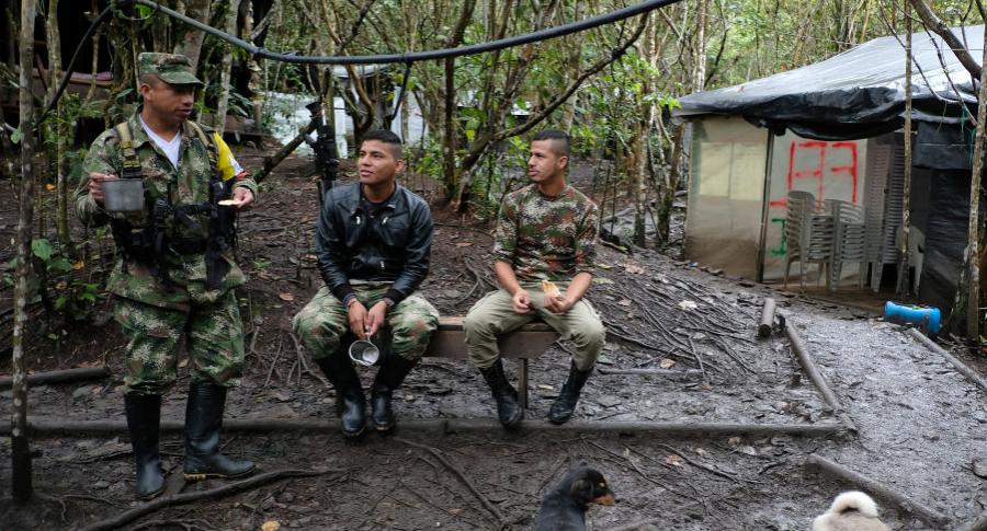 Exguerrilleros de las Farc en zonas de reintegración