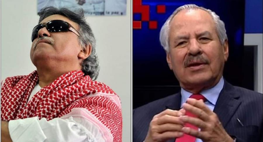 'Jesús Santrich' y Darío Arizmendi