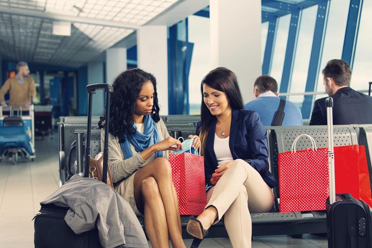 Compras en aeropuertos