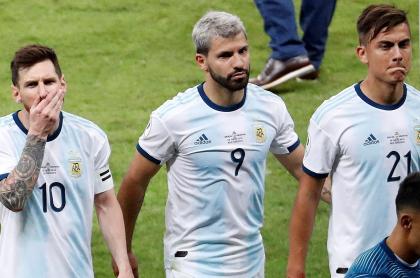 Messi, Agüero y Dybala