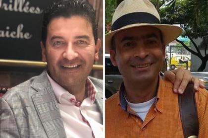 Néstor Morales y Luis Emilio Arboleda