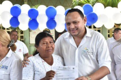 Alcalde de Tierralta Leonardo Otero Avilez