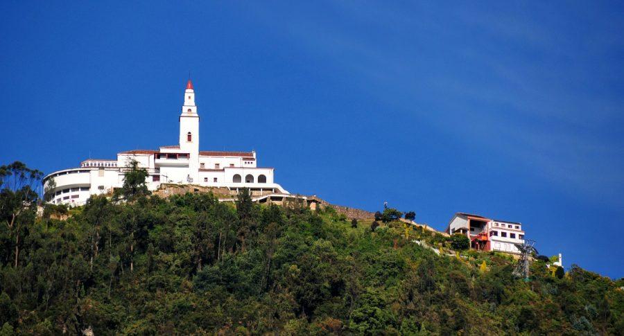 Cerro de Monserrate, Bogotá. Imagen de referencia Getty.