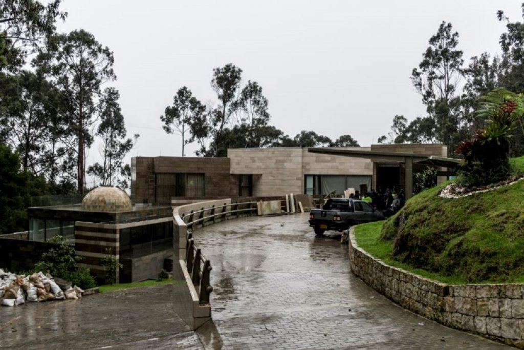 Predio Monterodro. Mansión en Bogotá. Imagen. CAR Cundinamarca.