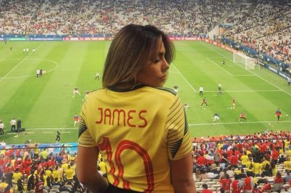 Juana Valentina Restrepo, 'youtuber' y hermana del futbolista James Rodríguez.