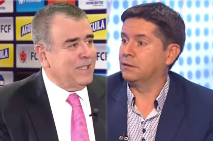 Javier Hernández Bonnet y Rafael Sanabria