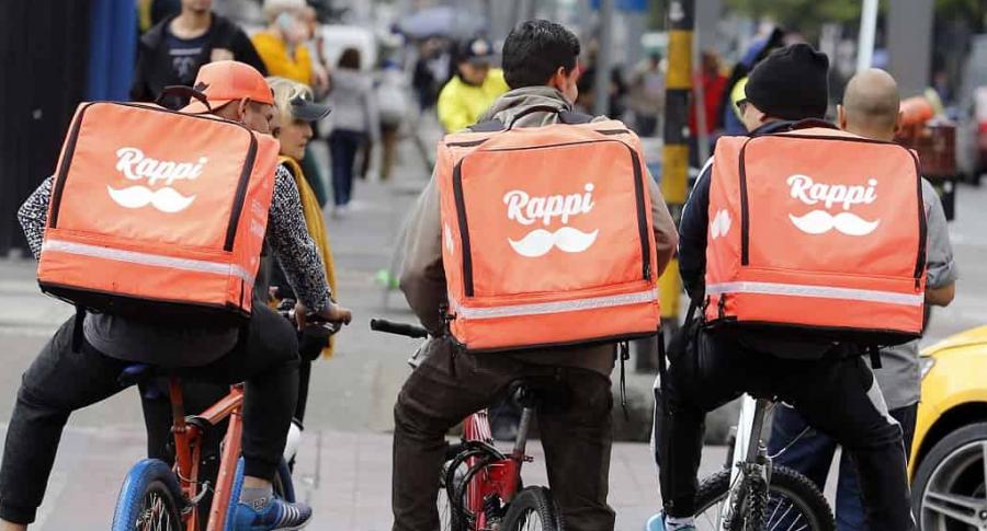 Trabajadores de Rappi