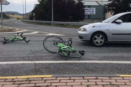 Accidente ciclismo