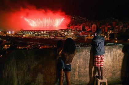 Ceremonia de Clausura de Río 2016 en el estadio Maracaná