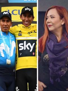 Santiago Botero, Nairo Quintana, Egan Bernal y 'Goga'