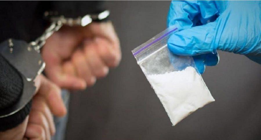 Capturado con drogas