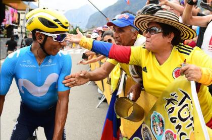 Nairo en el Tour de Francia