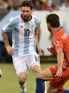 Messi vs Chile