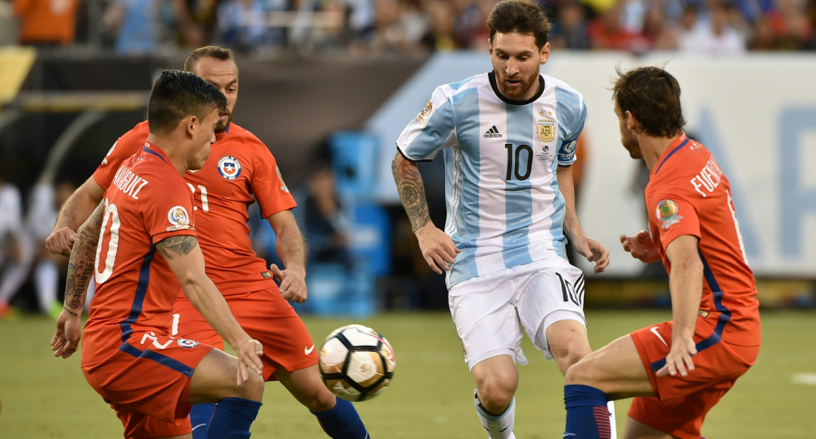 Messi vs Chile