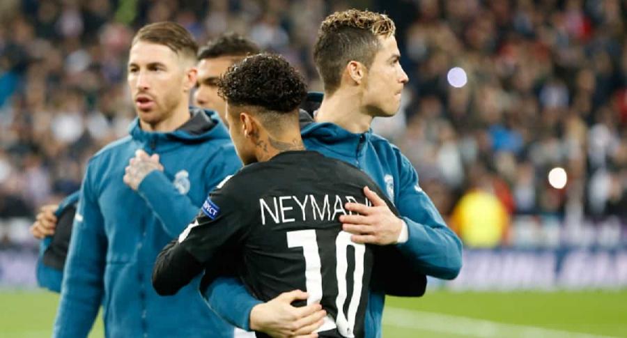 Cristiano y Neymar