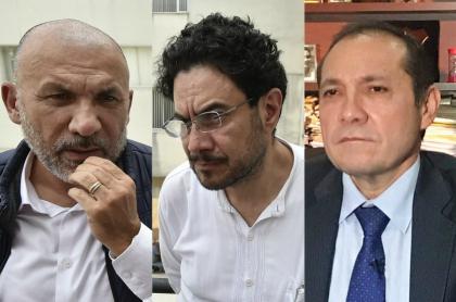 Roy Barreras, Iván Cepeda y Antonio Sanguino