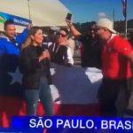 Aficionados chilenos en la Copa América