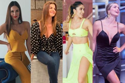 Lina Tejeiro, Carolina Cruz, Daniela Ospina y Cristina Hurtado