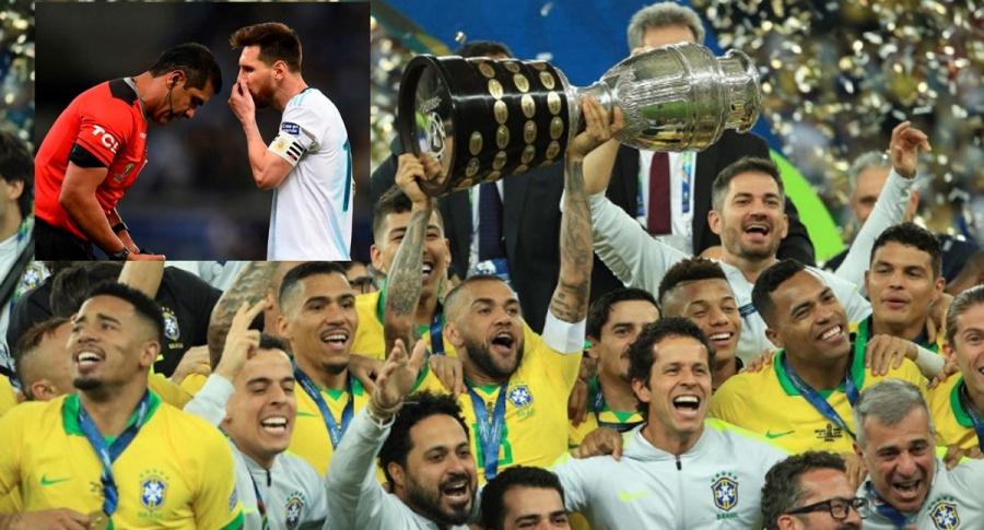 Brasil campeón de Copa América