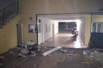 Ataque a sede de Fiscalía en Ocaña