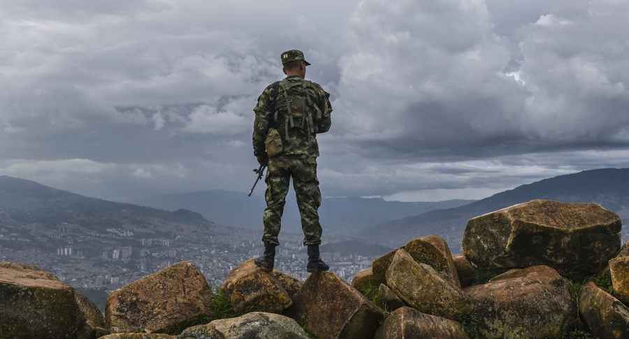 Militar colombiano