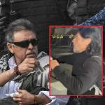 'Jesús Santrich' y chileno que lo habría ayudado a salir de la zona de reintegración