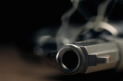 Arma de fuego.
