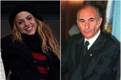 Shakira / Fernando de la Rúa