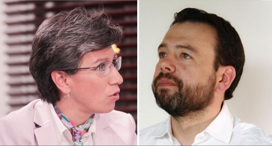 Claudia López y Carlos Fernando Galán