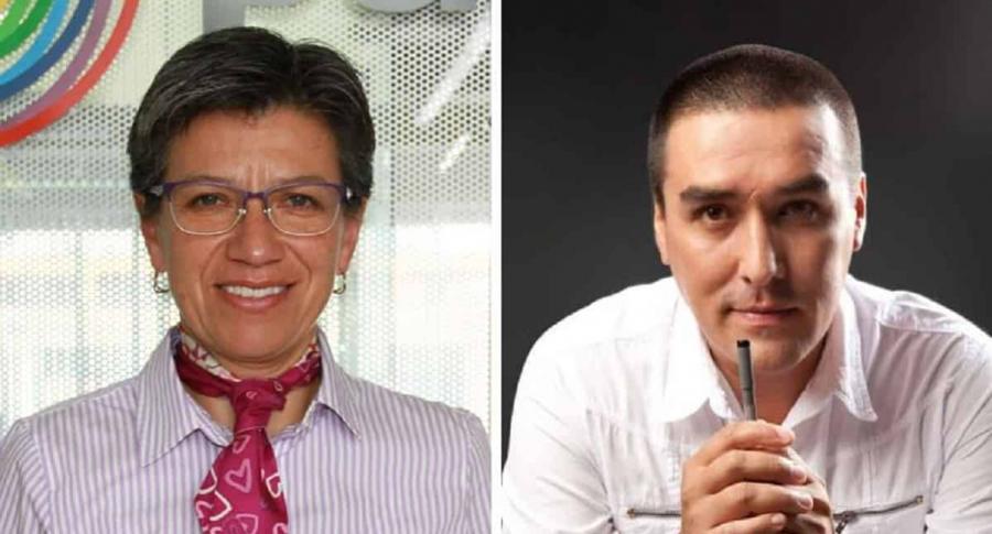 Claudia López y 'Matador'