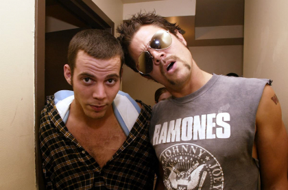 Steve O y Johnny Knoxville