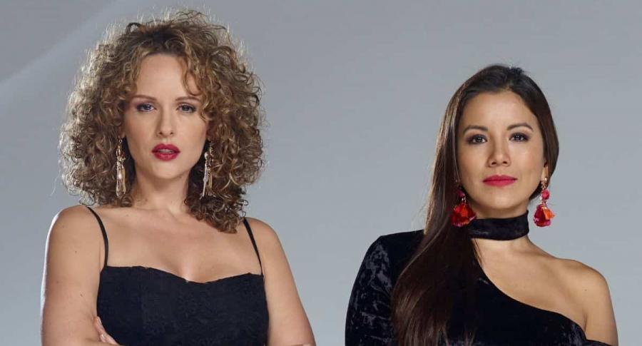 Paula Barreto y Caterin Escobar