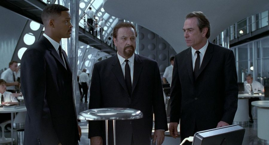 Will Smith, Rip Torn y Tommy Lee Jones