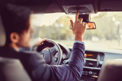 Conductor de Uber. Imagen de referencia Getty.