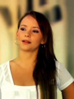 Paola Rey. Fernando 'el Flaco' Solórzano, y Angélica Blandón, actores.