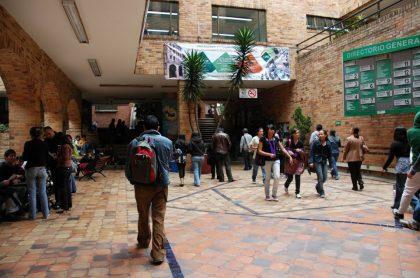 Estudiantes de la U. Autónoma de Colombia