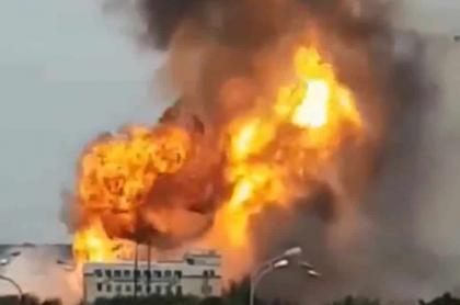 Incendio Moscú