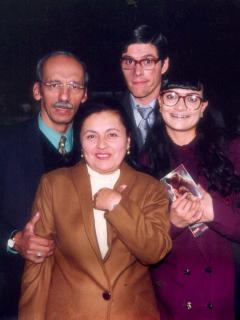 Jorge Herrera, Adriana Franco, Mario Duarte y Ana María Orozco, actores.