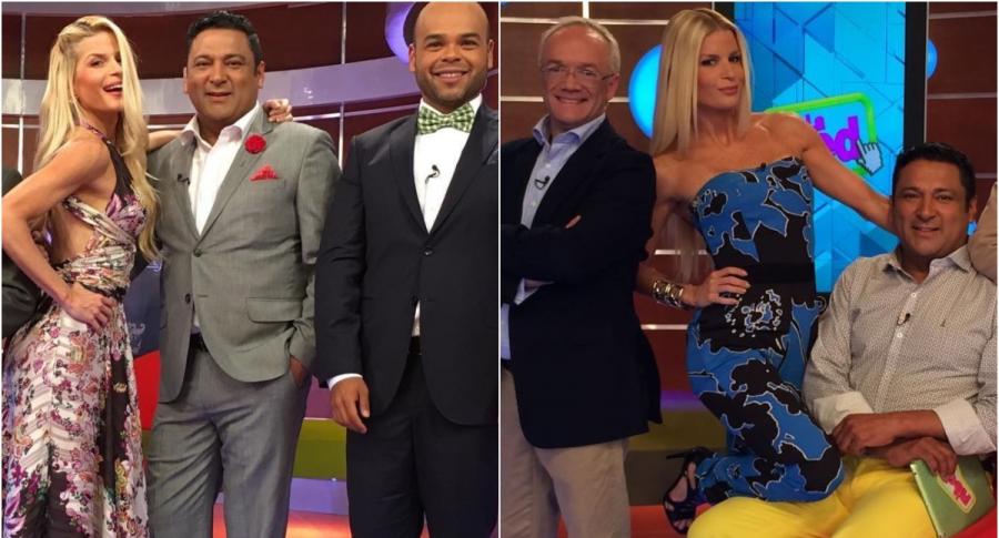 Carlos Giraldo, Mary Méndez, Frank Solano y Carlos Vargas