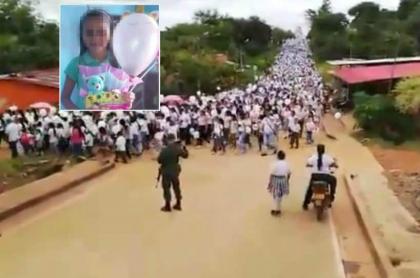 Marcha en El Retorno, Guaviare
